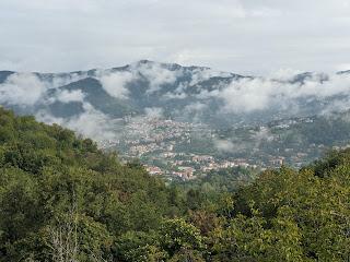 View from Via Vetta toward Sorisole.