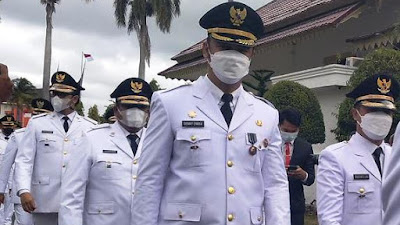 11 Kepala Daerah di Sumbar Resmi Dilantik Gubernur Mahyeldi