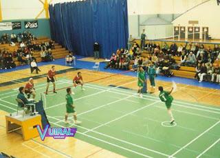 Foto Lapangan Sepak Takraw Indoor