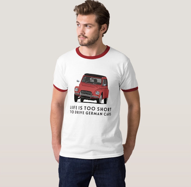 Vintage Citroën Dyane clothing and t-shirts