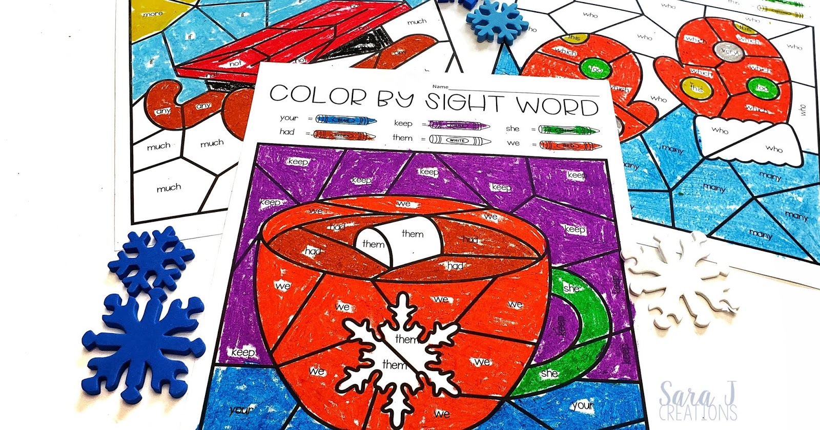 Editable Winter Color by Sight Word pages!!!! Perfect for preschool-2nd grade and beyond because you can use just the words your students need to practice. Makes differentiation a breeze!! Let your students color their sight words with a Christmas, winter, New Year's and Valentine's Day theme.