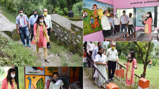 ऑनलाइन के इस दौर में बदल रहे हैं चमोली के भी प्राथमिक विद्यालय, राजकीय इन्टर कॉलेज तथा आंगनबाड़ी केन्द्र