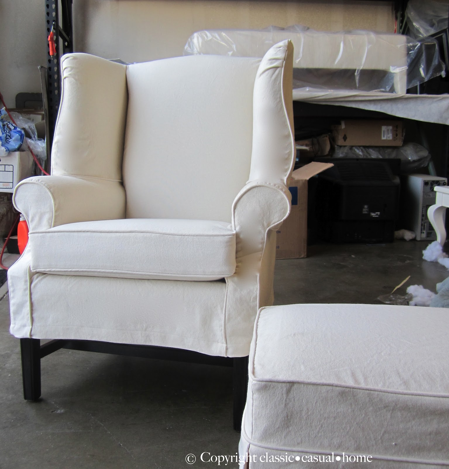 how to make slipcover for wingback chair hanging pakistan classic  casual home the enchanted and projects