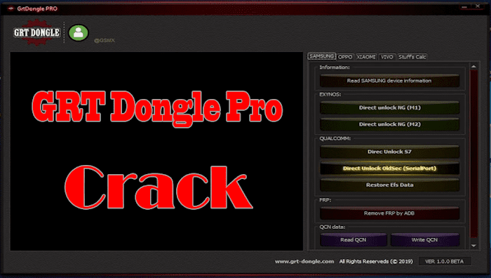 GRT Dongle Pro Crack Without Dongle 2019