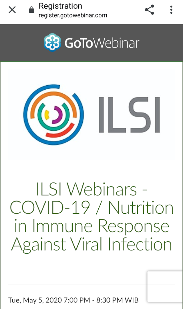 COVID-19 / Nutrition in Immune Response Against Viral Infection  Date: May 5th | 8 am Eastern time (Washington, DC). (90 minutes)