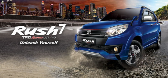 Harga Mobil Toyota Rush di Bali