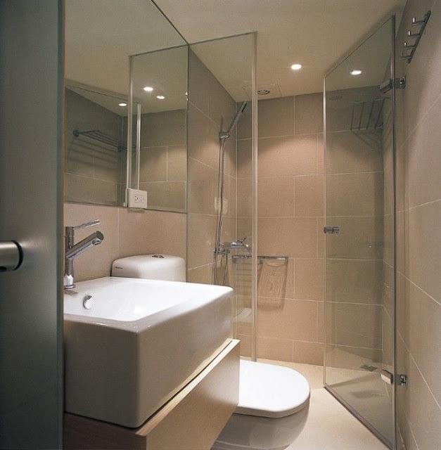 Interior Design Open Bathroom