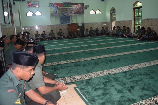 Lantunan Asmaul Husna Warnai Peringatan Hari Juang TNI AD Di Klaten