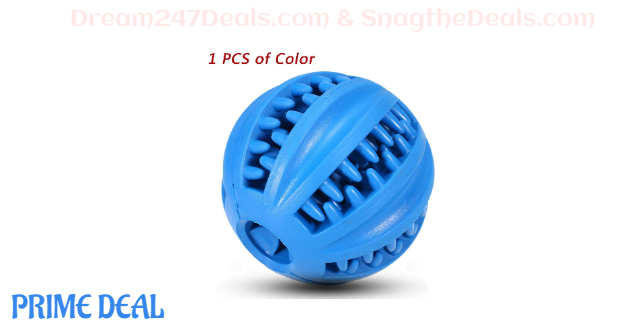 55% OFF Interactive Food Dispensing Dog Toy