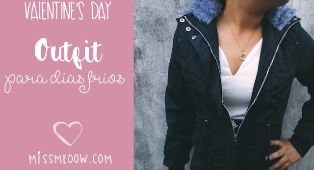 Outfit para días fríos | Valentine's Day