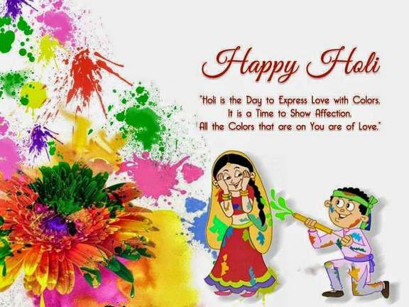 Happy Holi 2017 Quotes English for Facebook Whatsapp Status