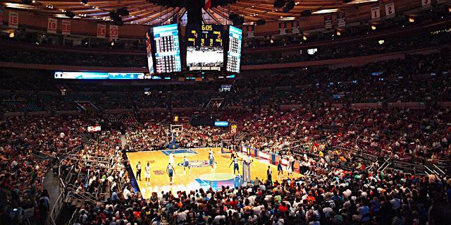 Stadion bola basket di amerika - Madison Square Garden
