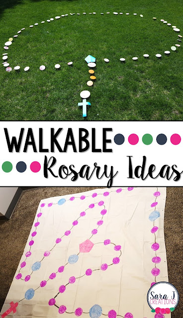 A roundup of ideas and resources for teaching Catholic children to pray the Rosary.