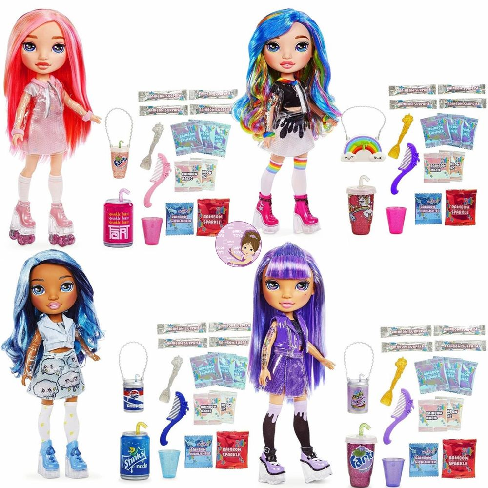Rainbow Surprise fashion dolls Poopsie Slime collection