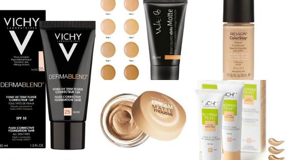 bases maquiagem de farmacia