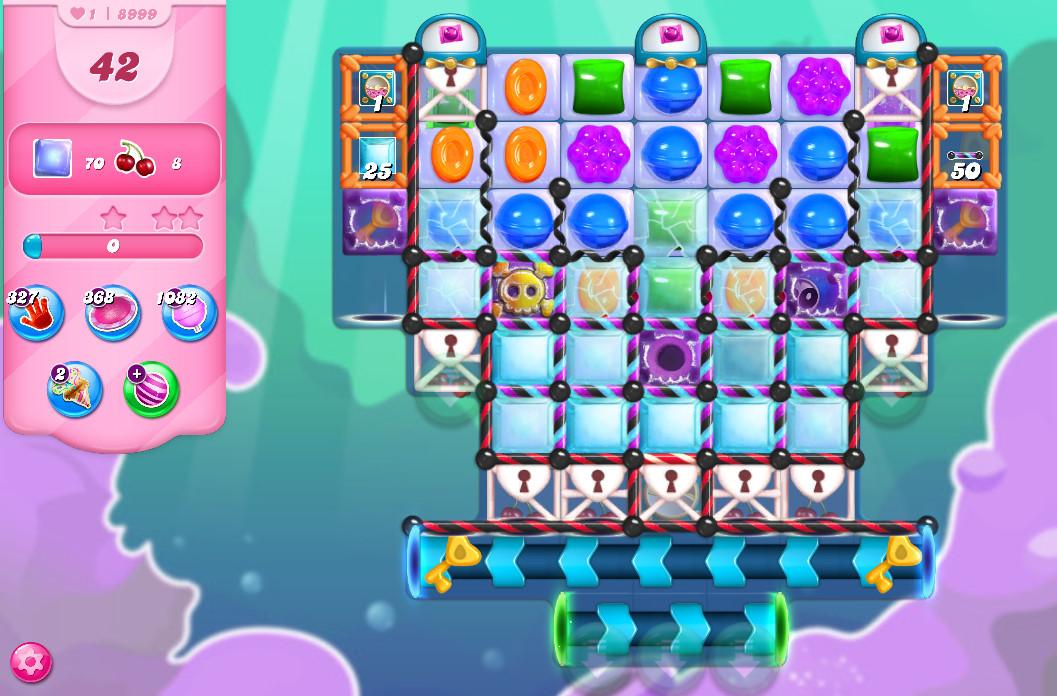 Candy Crush Saga level 8999
