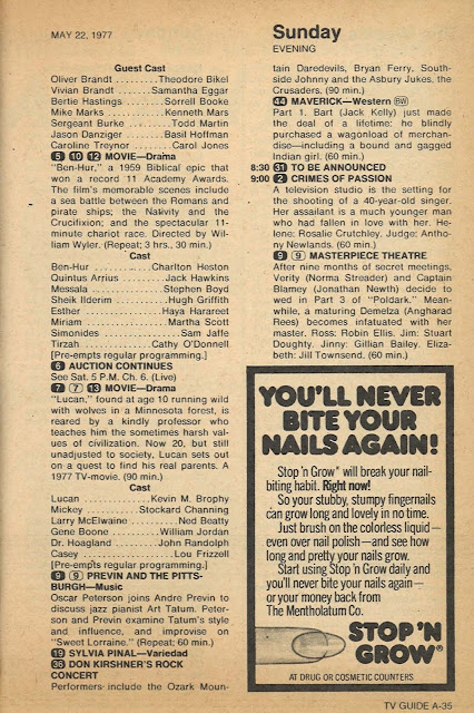 Lucan TV Guide Listing
