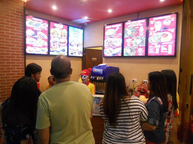 Chicken Deli queue