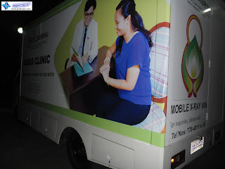 Mobile X-Ray Van Wrap - Cabrini Medical Center, Batangas, Philippines