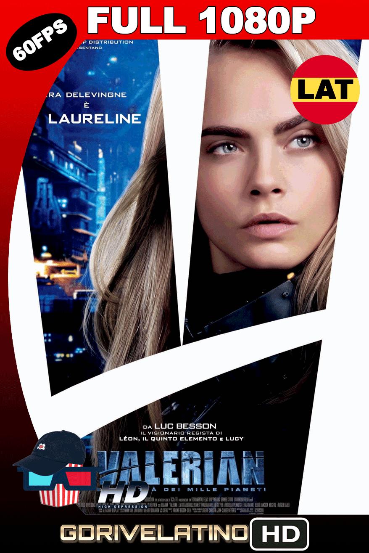 Valerian y la Ciudad de los Mil Planetas (2017) BDRip FULL 1080p (60FPS) Latino-Ingles MKV