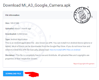 تحميل تطبيق Google Camera لهاتف xiaomi Mi A3