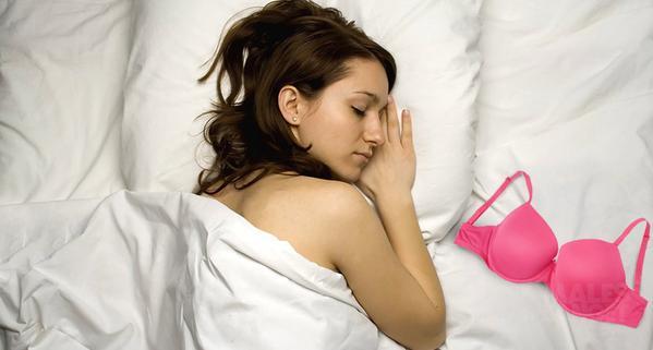 THE DANGER OF USING BRA WHEN SLEEPING
