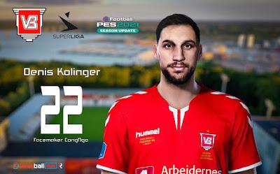 PES 2021 Faces Denis Kolinger by CongNgo