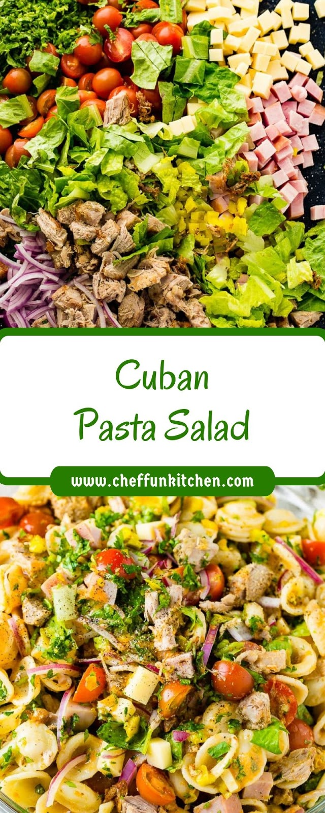 Cuban Pasta Salad