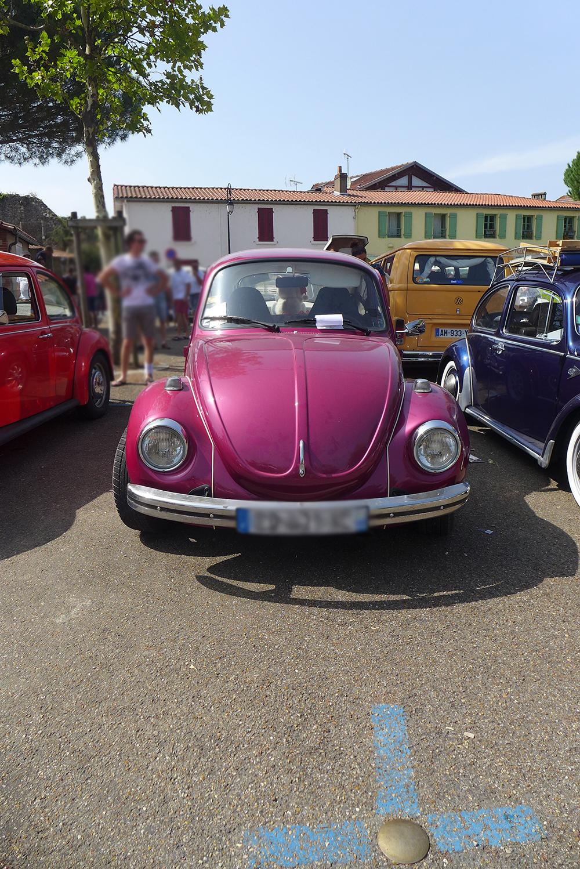 rassemblement voitures vintages Coccinelle volkswagen à Clisson