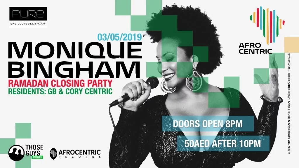 Monique Bingham Live at Afrocentric Closing Party