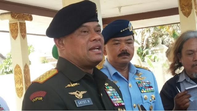 Gatot Nurmantyo: Jangan Ikuti Pemimpin yang Jual TNI, Jangan Ikuti Pelacur Politik!