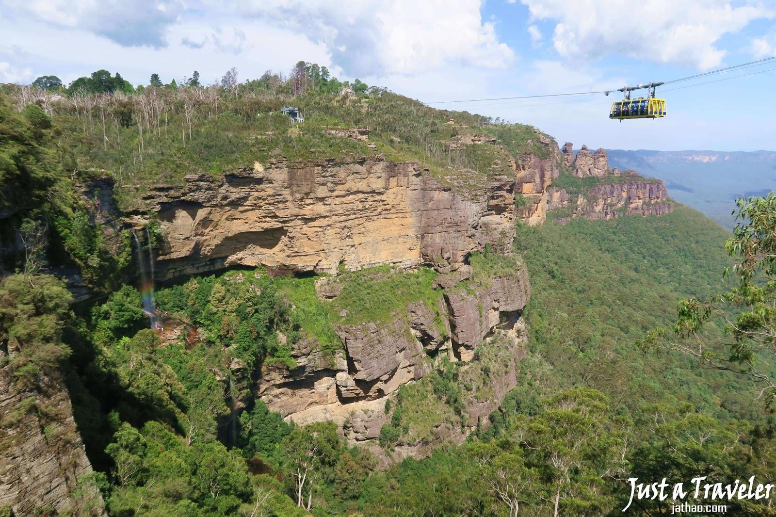 雪梨-景點-推薦-藍山國家公園-景觀世界-旅遊-自由行-澳洲-Sydney-Blue-Mountain-National-Park-Scenic-World-Travel-Australia