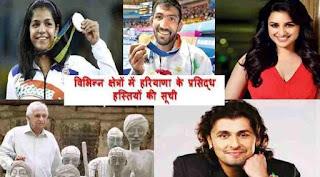Haryana Famous Personalities