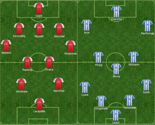 Arsenal Vs Huddersfield: Arsenal 5-0 Huddersfield Town Video Highlights