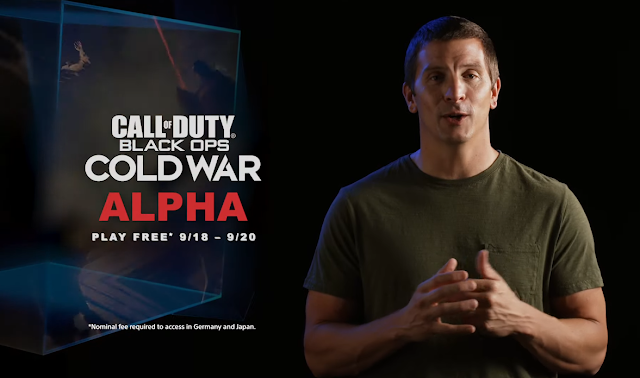 Call of Duty Black Ops Cold War ALPHA PlayStation 5 September 18 to 20