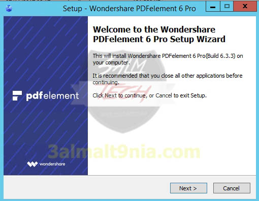 Wondershare PDF element Pro 6 - عالم التقنيه