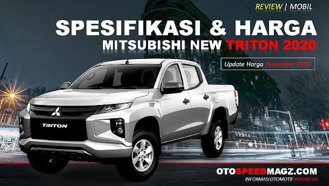 Harga dan Spesifikasi Mitusbishi New Triton 2020