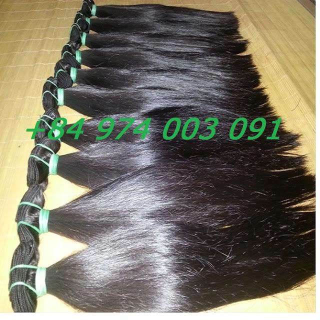 Mua tóc dệt kẹp, tóc dệt phím kep 40cm