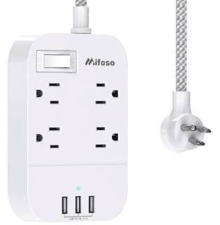 $11.55, Mifaso Power Strip with USB Extension Cord