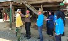 Pemerintahan Desa Betao Bagi-bagi Masker