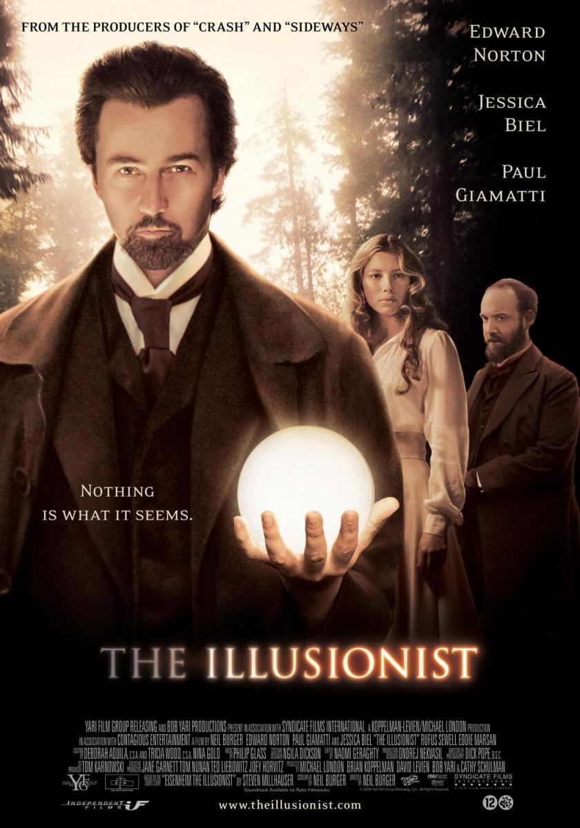 Download The Illusionist (2006) Full Movie in Hindi Dual Audio BluRay 720p [900MB]