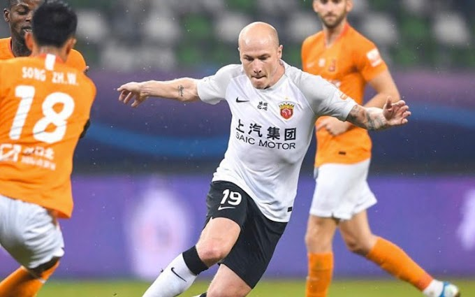Aaron Mooy scores on his debut for Shanghai SIPG
