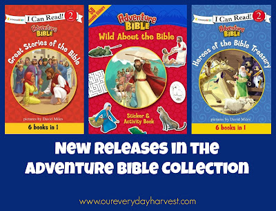 Books from The Adventure Bible series