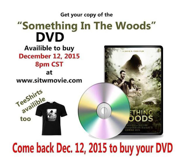 Something in the woods dvd