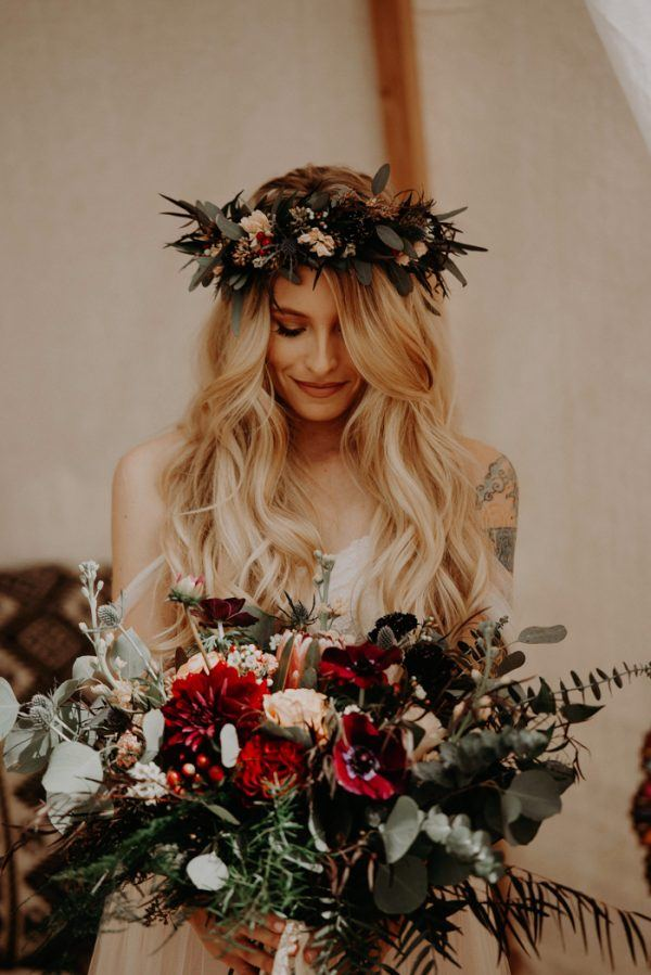 Boda en Wind Wolves Preserve look beauty novia
