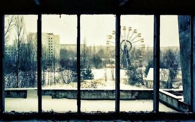 Pripyat, Ucrania, después del suceso de la planta de Chernobyl