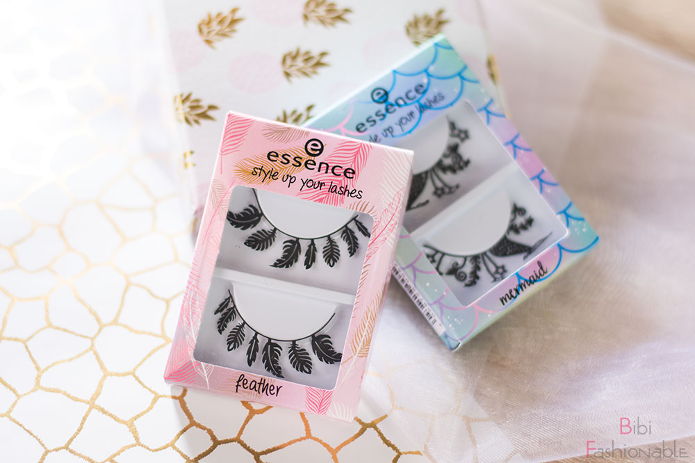 essence style up your lashes feathers