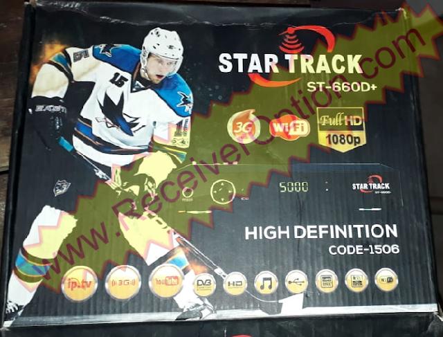 STAR TRACK 660D+ HD RECEIVER VLINE & TEN SPORTS OK NEW SOFTWARE