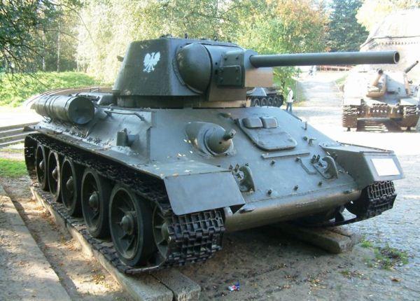 Tank T-34 peninggalan Uni Soviet