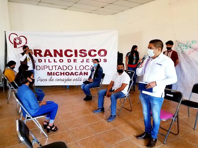 "Con éxito se realiza el Segundo Conversatorio Juvenil ""Yo Diputado"" en Angahuan"